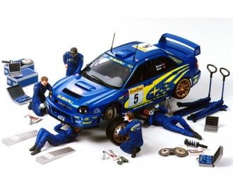 1:24 Figuren-Set Rally Mechaniker (5)