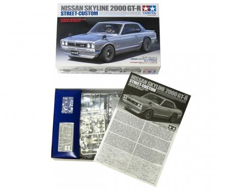 1:24 Nissan Skyline 2000GT-R Str. Custom