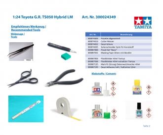 1/24 TS050 HYBRID