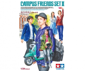 1/24 Campus Friends Set II