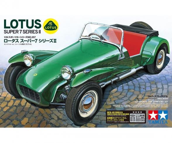 1/24 Lotus Super 7 Series II