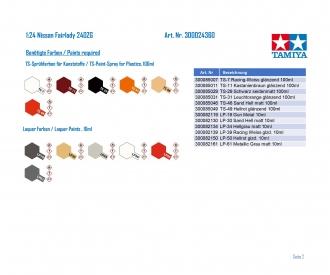1:24 Nissan Fairlady 240ZG