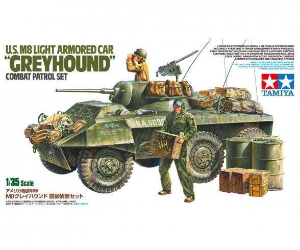 1:35 US M8 Greyhound Combat Patrol Set