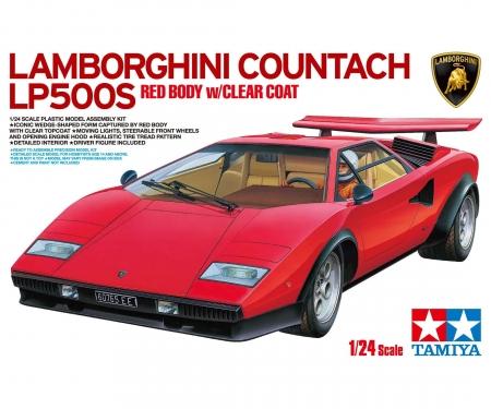 1:24 Lamborghini LP500 Rot lackiert