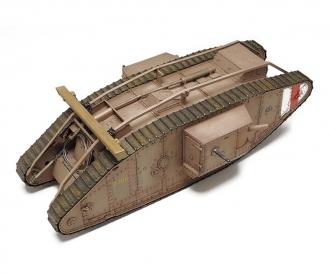 1:35 WWI Brit. Panzer Mk. IV Male (mot.)