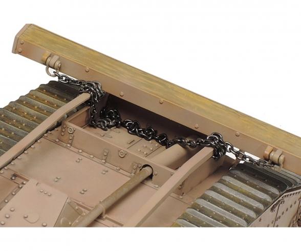 1:35 WWI Brit. Tank Mk. IV Male (mot.)