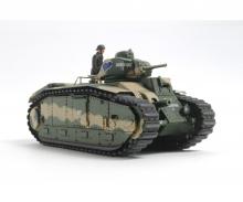 1:35 WWII Franz. Panzer B1 bis (motor.)