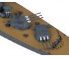 1:700 Jap. Yamato Schlachtschiff WL