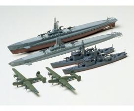 1:700 US U-Boot Gato m. Jap.U-Jagdboot