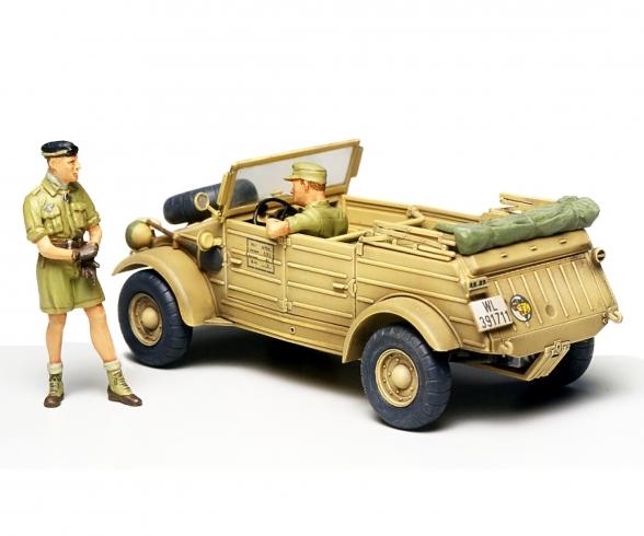 1:48 WWII Ger.Kübelw.Typ82 Pkw.K1 Afrika
