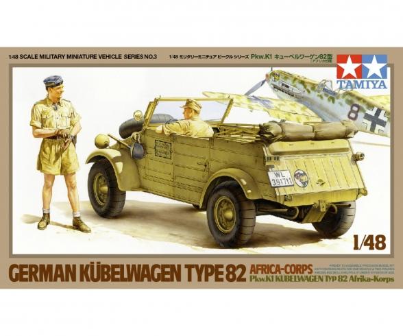 1:48 WWII Dt. Kübelw.Typ82 Pkw.K1 Afrika