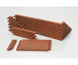 1:48 WWII Diorama-Set Mauern&Sandsäcke