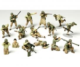 1:48 Figuren-Set US Infanterie (15)