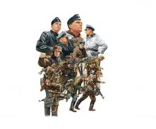 1:48 WWII Figuren-Set Dt.Pz.Grenadi.(15)