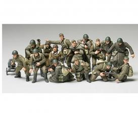 1:48 Rus. Figure-Set Infantry/Tank Crew