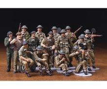 1:48 Brit. Figure-Set Infantry Europe