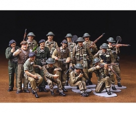 1:48 Brit. Figure-Set Infantry Europe