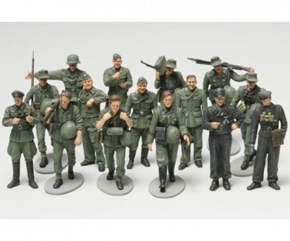 1:48 WWII Figuren-Set Dt.Infa.Manöv.(15)