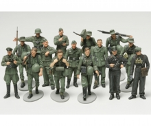 1:48 WWII Figure-Set Ger.Inf.Maneuv.(15)