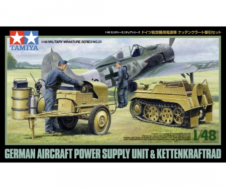 1:48 WWII Ger.Kettenkrad w/Airc.Pow.Sup.