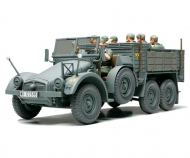 1:48 WWII Ger.Truck Krupp Protze w/8Fig.