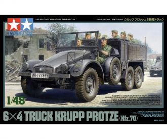 1:48 WWII Dt.Lkw Krupp Protze m.Fig.(8)