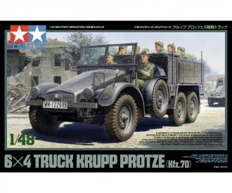 1:48 WWII Ger.Truck Krupp Protze w/8Fig.