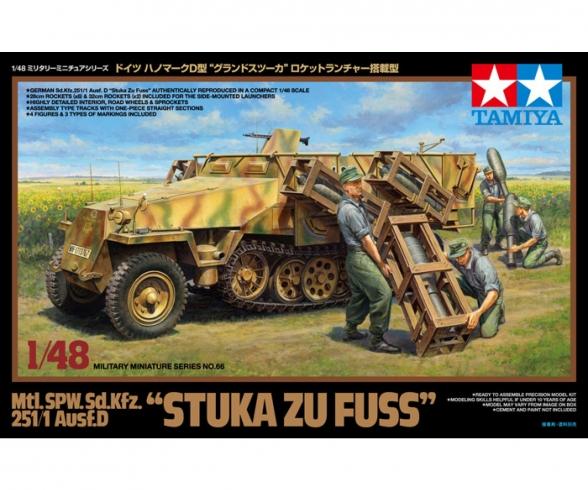 "1:48 Sd.Kfz.251/1 ""Stuka z.Fuss"" Halftr."