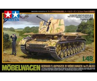 1:48 Möbelwagen Flak 43 3,7cm