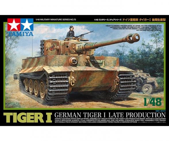 1:48 Dt. Tiger I Späte Produktion Ten.