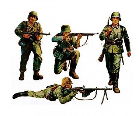 1:35 Fig.-Set Dt. Infanterie (4)