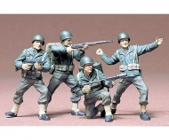 1:35 WWII Figuren-Set US Army Infant.(4)