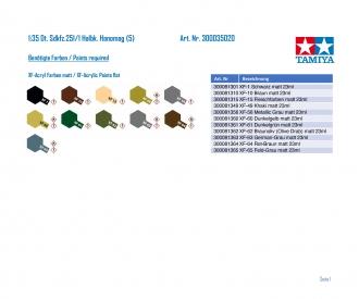 1:35 WWII Sdkfz.251/1 Halbk. Hanomag (5)