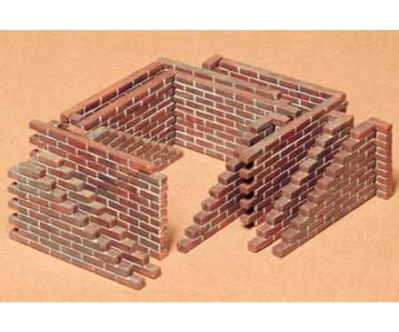 1:35 WWII Diorama-Set Brick Wall (22)