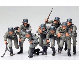 1:35 WWII Fig.-Set Dtsch. Infanterie (8)