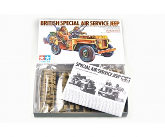 1:35 WWII Britisch S.A.S Jeep (2)