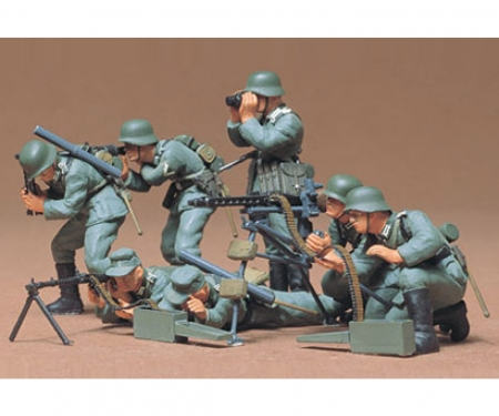 1:35 WWII Fig.-Set Ger. MG Troops (7)