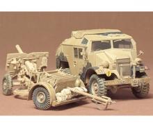 1:35 WWII Brit.25pdr Field gun w/Veh.(1)