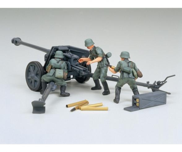 1:35 Ger. 7,5cm Anti Tank Gun(PAK) (3)