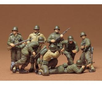 1:35 WWII Fig.-Set US Infant. W-Eur.(8)