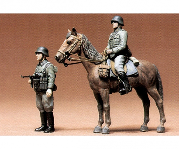 1:35 WWII Ger. Infantery mounted (2)
