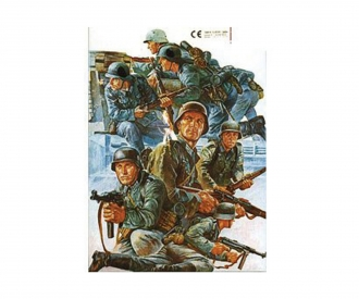 1:35 WWII Fig.-Set Dt. Pz Grenardiere(8)