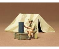 1:35 WWII Diorama-Set Zelt m. Funk (1)