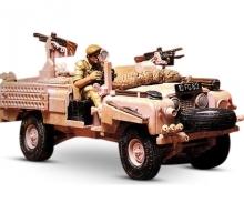 1:35 WWII Brit.SAS Land Rover P.Pant.(1)
