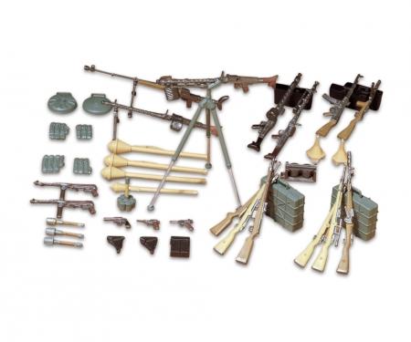 1:35 WWII Diorama-Set Ger.Weapo.Inf.(24)