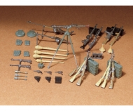 1:35 WWII Diorama-Set Ger.Weapo.Inf.(24)