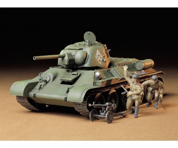 1:35 WWII Sov.MBT T34/76 ChTZ V.43 (2)