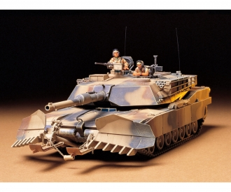 1:35 US MBT M1A1 Abrams w/Mine Plow(2)