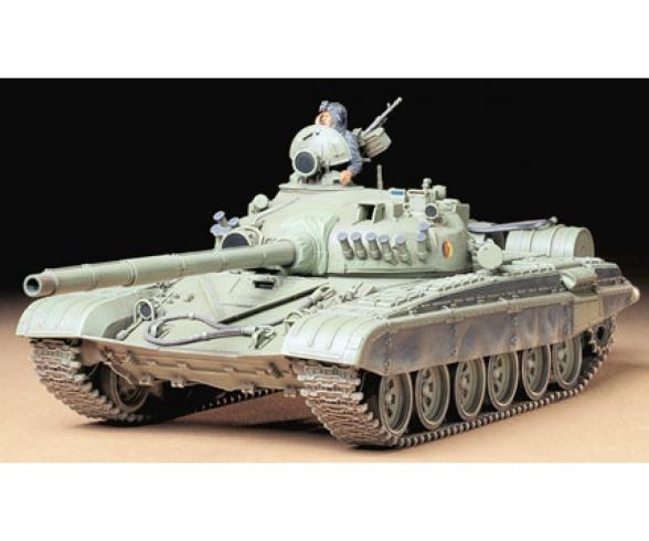 1:35 Russian T72M1 Army Tank
