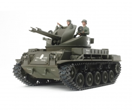 1:35 US M42 Duster w:3 Figures